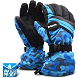 ZIONOR SG2 Winter Sport Ski Snowboard Handschuhe Wasserdicht Warm Gemütlich Anti-Rutsch für Skifahren Snowboard für Herren Damen