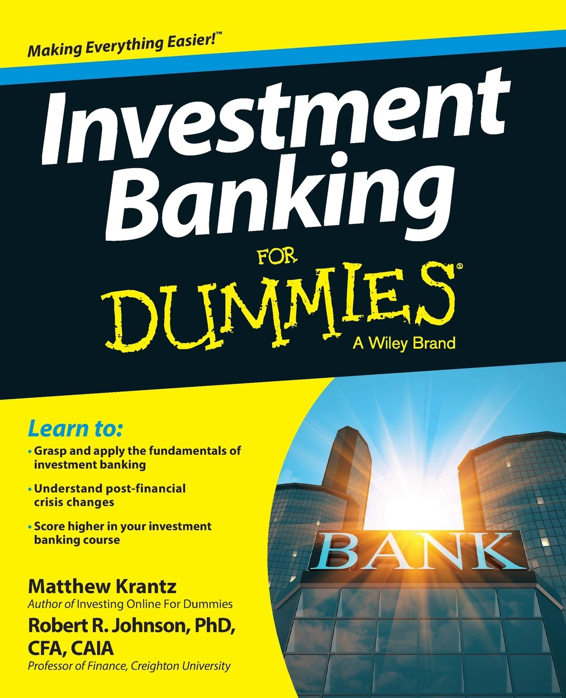 Buy investment banking for dummies for dummies series book buy investment banking for dummies for dummies series book online at low prices in india investment banking for dummies for dummies series reviews 1betcityfo Image collections