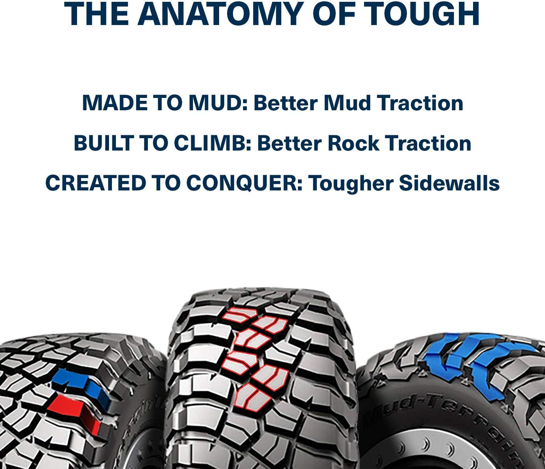 BFGoodrich Mud-Terrain T//A KM3 Radial Tire-LT295//70R17//E 121//118Q 121Q