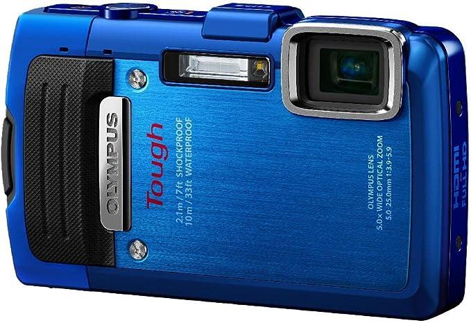 Olympus Tg 830 Digitalkamera 3 Zoll Blau Kamera