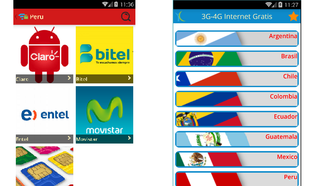 Amazon com: 3G-4G Internet Gratis Android: Appstore for Android