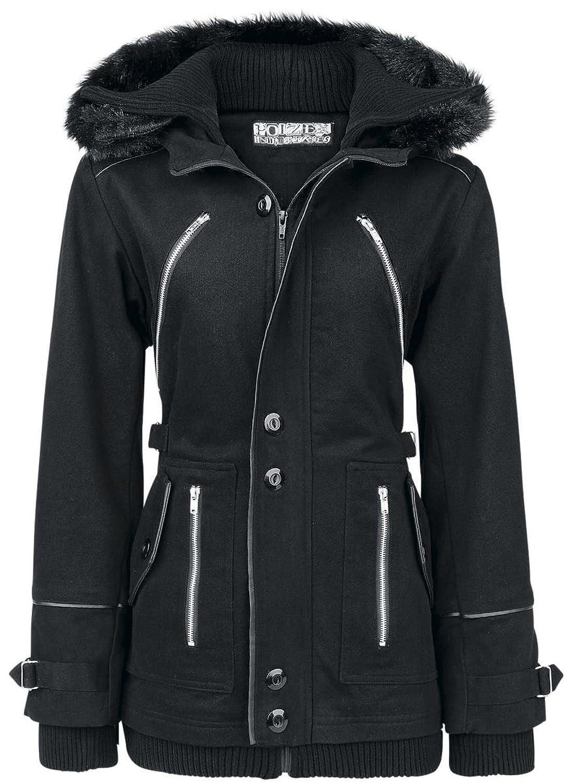 Poizen Industries Chase Coat Girl-Jacke schwarz
