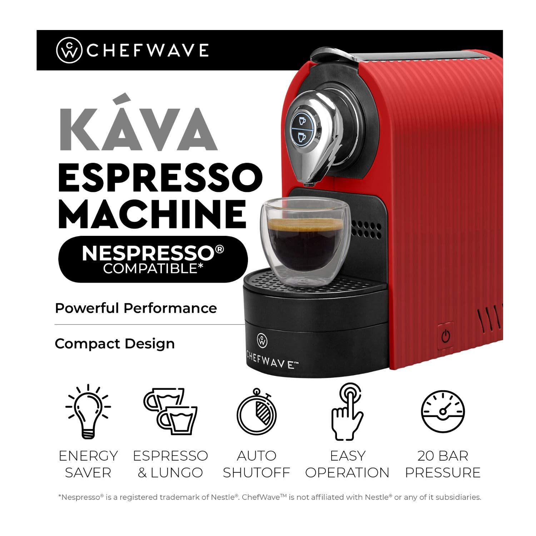 Amazon.com: ChefWave Mini máquina de expreso – Compatible ...