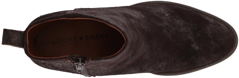 Lucky Brand Women's Natania Ankle Boot B06ZZP4ZWV 5.5 M US|Bracken