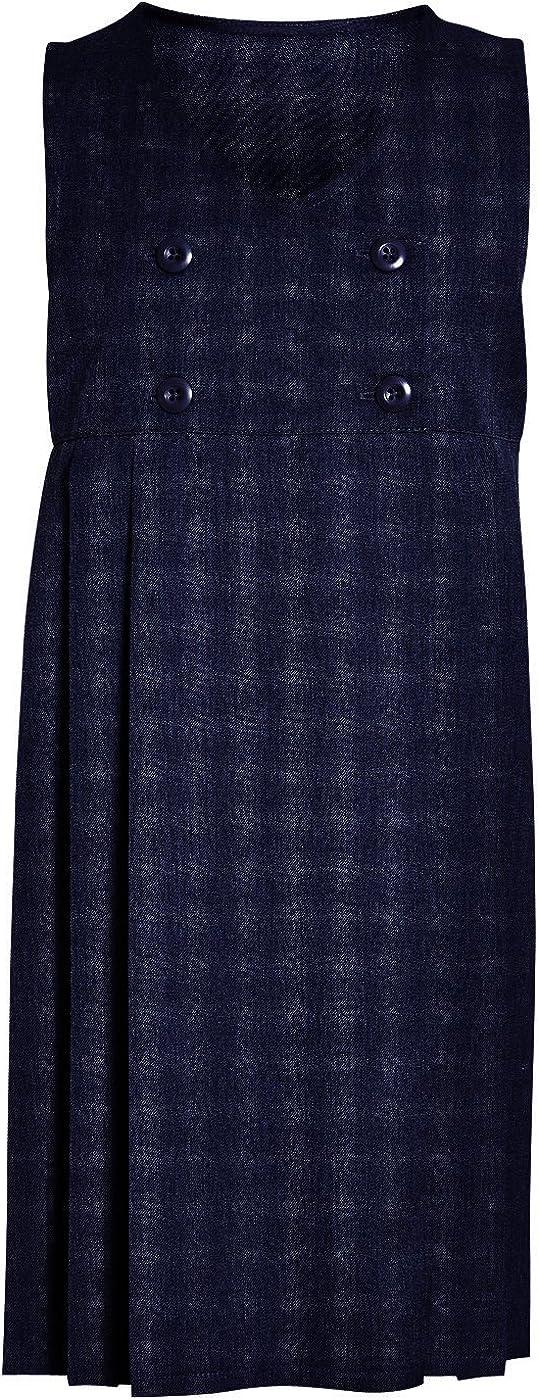CreativeMinds UK School Uniform Girls Summer Formal Dress Bottom Full Elastic Box Pleat Skirt Only Uniform /®