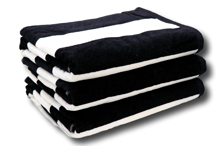 Lara Cabana Beach Towel - Bath Sheet Size - Pool Spa Bath Towel - Extra Soft & Large (35