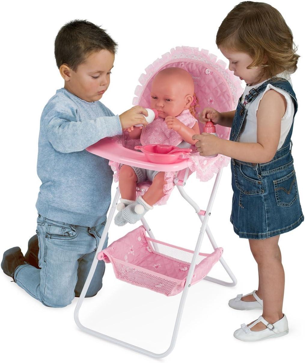 Decuevas Toys - Trona Maria plegable con accesorios, multicolor ...