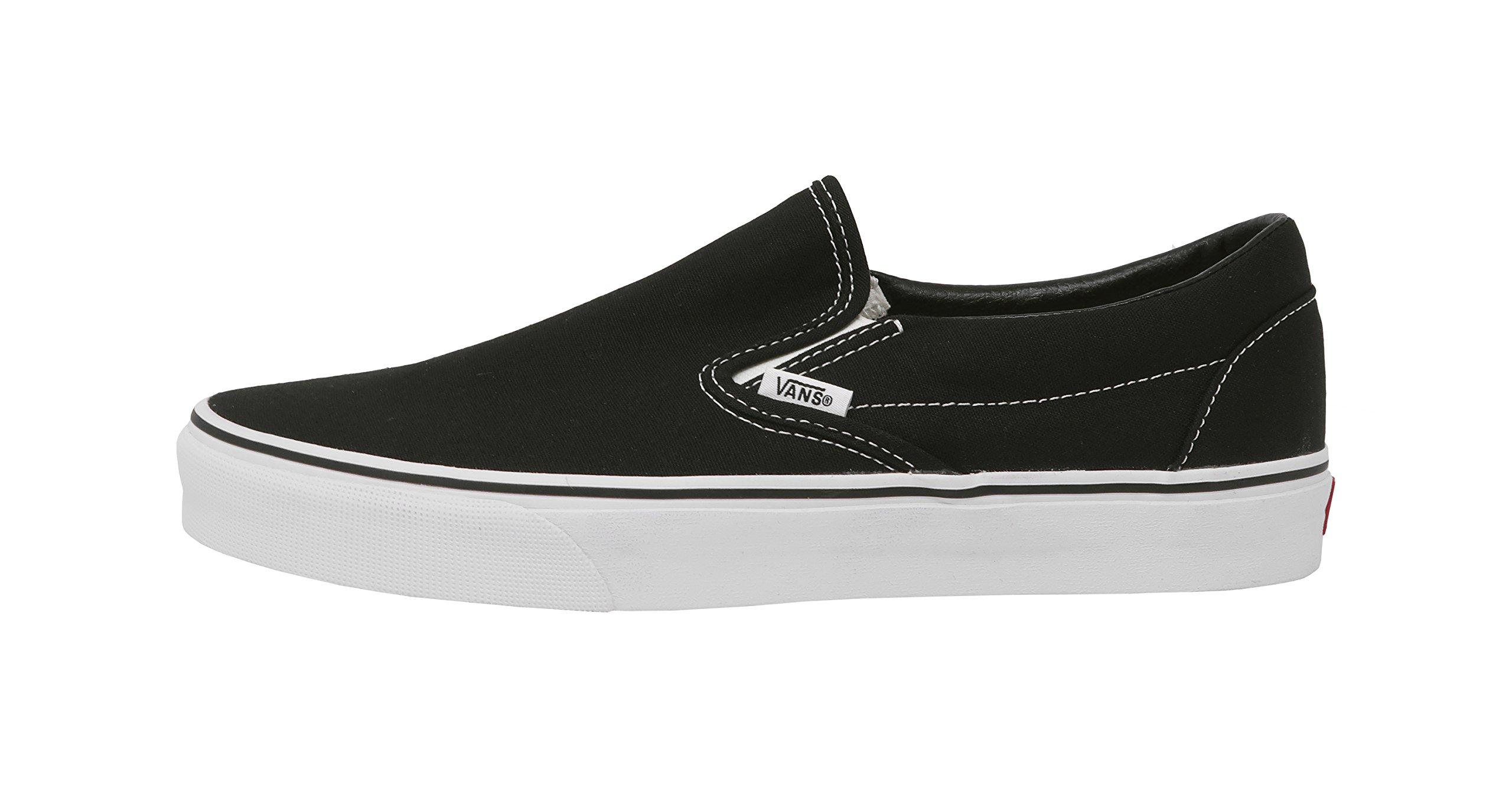 Vans U Classic Slip-On Skate Shoe Black 9.5 D(M) US by Vans (Image #2)