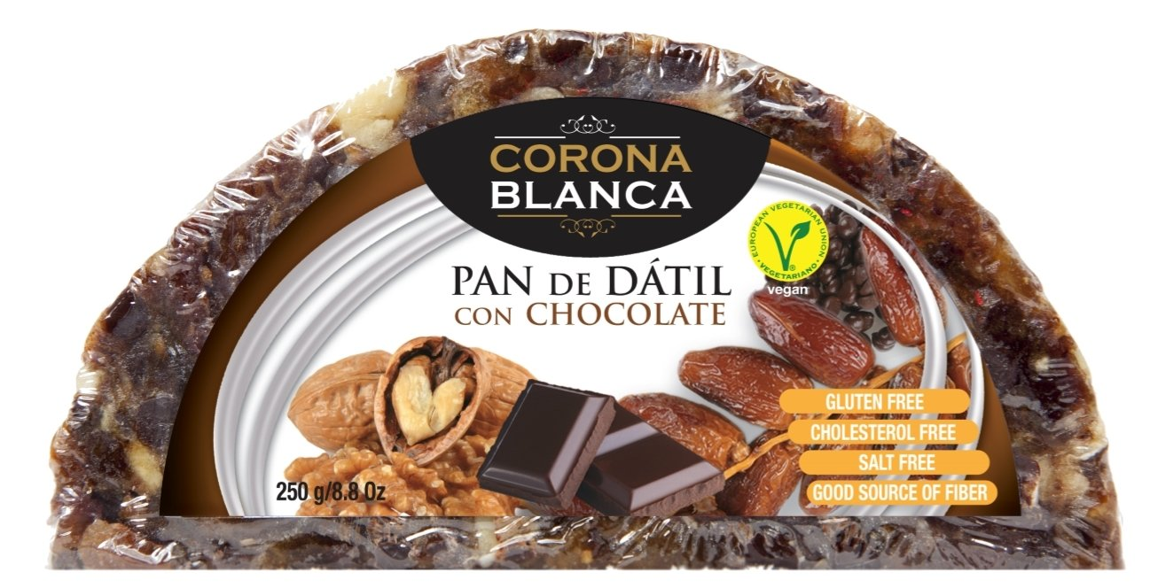 Pan De Dátil Con Chocolate 250 Gr: Amazon.es: Alimentación y ...