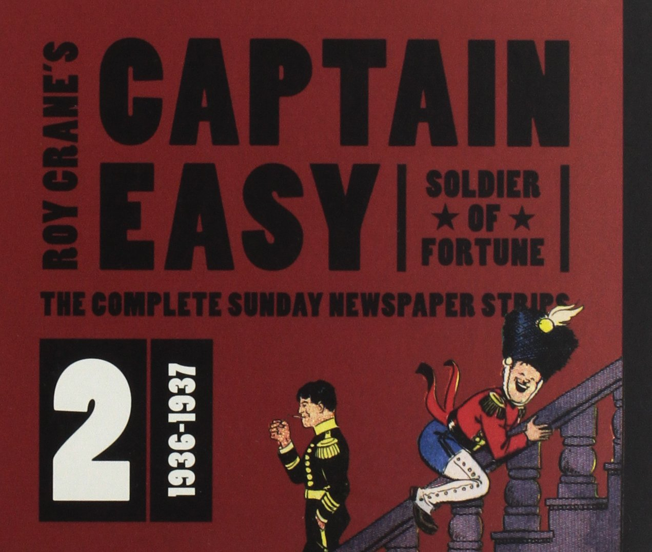 Read Online Captain Easy, Soldier of Fortune Vol. 2: The Complete Sunday Newspaper Strips (Roy Crane's Captain Easy) PDF