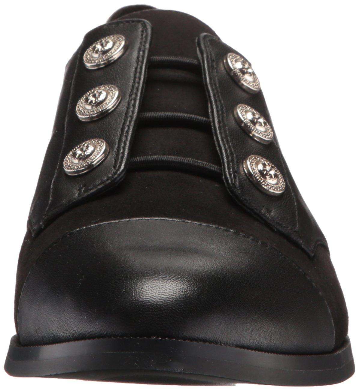 Nine West Women's Here Leather Uniform Dress Shoe, Black/Multi Leather, 5 M US by Nine West (Image #4)
