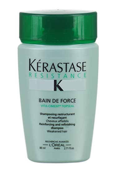 Amazon.com: Kerastase Bain de fuerza 2.71oz botellas de ...