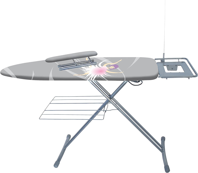 MSV MS351 - Mesa de Planchar con Plancha Mangas, Acero: Amazon.es ...