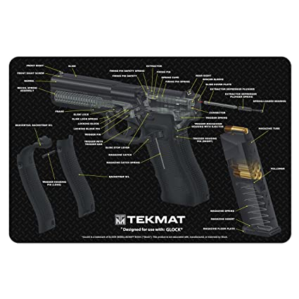 Amazon Tekmat Glock Cut Away Cleaning Mat 11 X 17 Thick