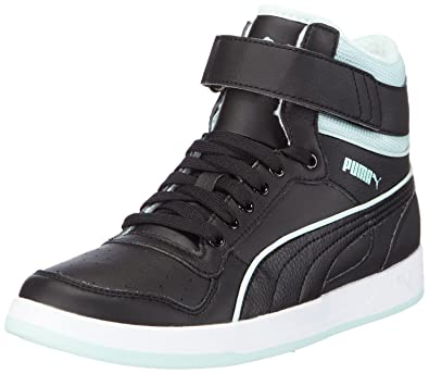 62e9c7b4a9b1 Puma Women s Puma Liza Mid Fur High-top trainers Black Size  4.5 ...