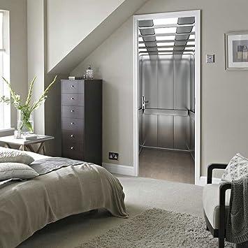 MIAORUI schlafzimmer renovieren, 3d - aufzug, kreative tür aufkleber ...