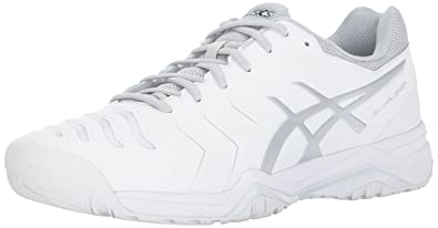 info for ce0de 7322d ASICS Mens Gel-Challenger 11 Tennis Shoe, White Silver, 9.5 Medium US