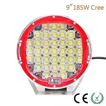 Amazon Com Zhiteyou 12 Volt Led Lamp Type 9inch Led Driving Light