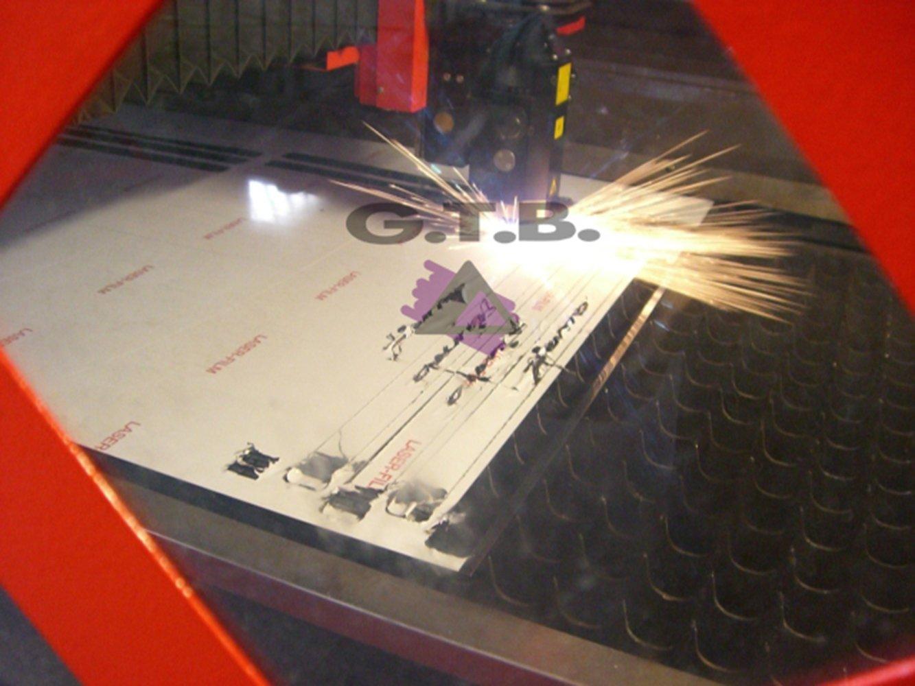 kit tuning pedana poggiapiede acciaio inox 18 x 8 cm con kit velcro incluso