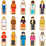 Little Professionals Wooden Character Set (15 pieces) by Imagination Generation