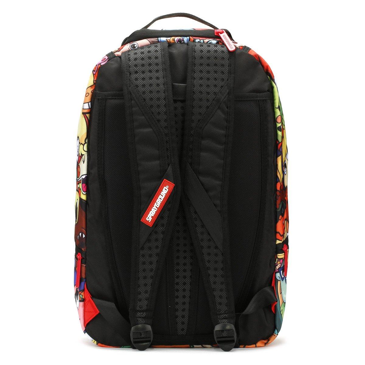 Sprayground 90s anime nickelodeon backpack multi amazon co uk shoes bags