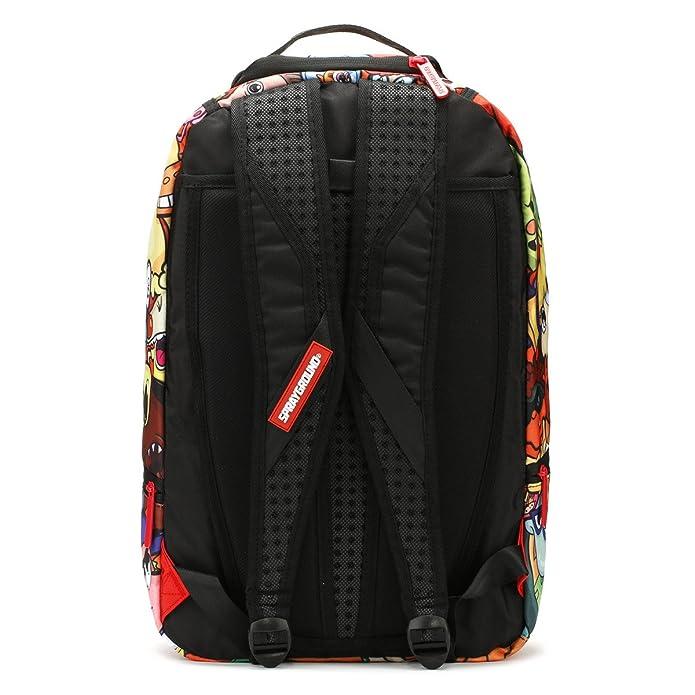 b7f4aa3fcabb Sprayground 90 s Anime Nickelodeon Backpack - Multi  Amazon.co.uk  Shoes    Bags
