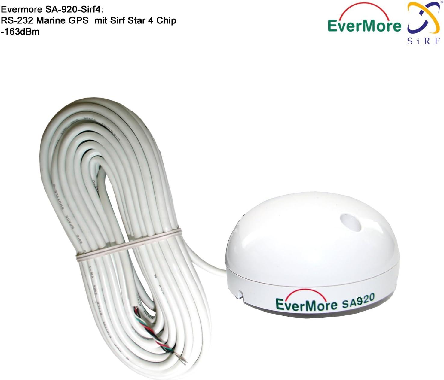 Evermore Marino - Receptor GPS de 48 canales SA-920 RS-232 ...