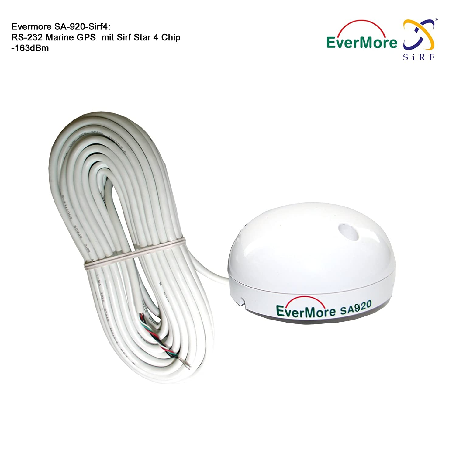 Rs232 Wiring Diagram Gps Antenna Library Marine For Amazoncom 48 Channel High Sensibility 163dbm Receiver Evermore Sa