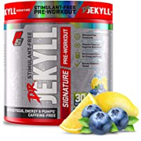 ProSupps Dr. Jekyll Signature Pre-Workout Powder, Stimulant & Caffeine Free, Intense Focus, Energy & Pumps, (30 Servings…
