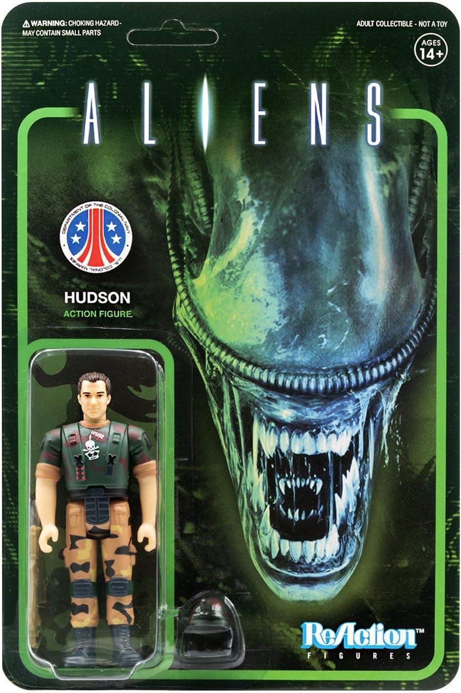 "SUPER7 Aliens Hudson ReAction Figure 3.75/"" NEW"