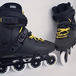 Amazon Com Customer Reviews Rollerblade Twister Edge Men S Adult Fitness Inline Skate Black And Yellow High Performance Inline Skates 12