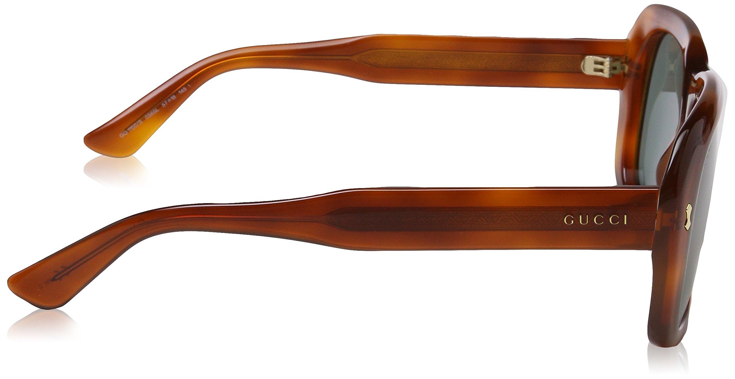 Gucci Men's GG 2247/S Semi Matte Black/Gradient Shaded Polarized by Gucci (Image #3)