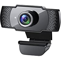 Webcam with Microphone, 1080P HD Streaming USB Computer Webcam [Plug and Play] [30fps] for PC Video Conferencing/Calling…