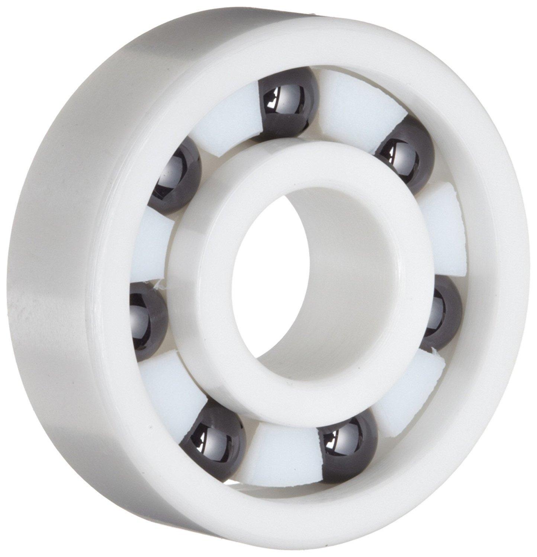Full Ceramic 608 8x22x7 Miniature Ball Bearings ZrO2 Zirconia White Premium