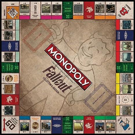 Monopoly: Fallout Collectors Edition - Exclusive by USAopoly: Amazon.es: Juguetes y juegos
