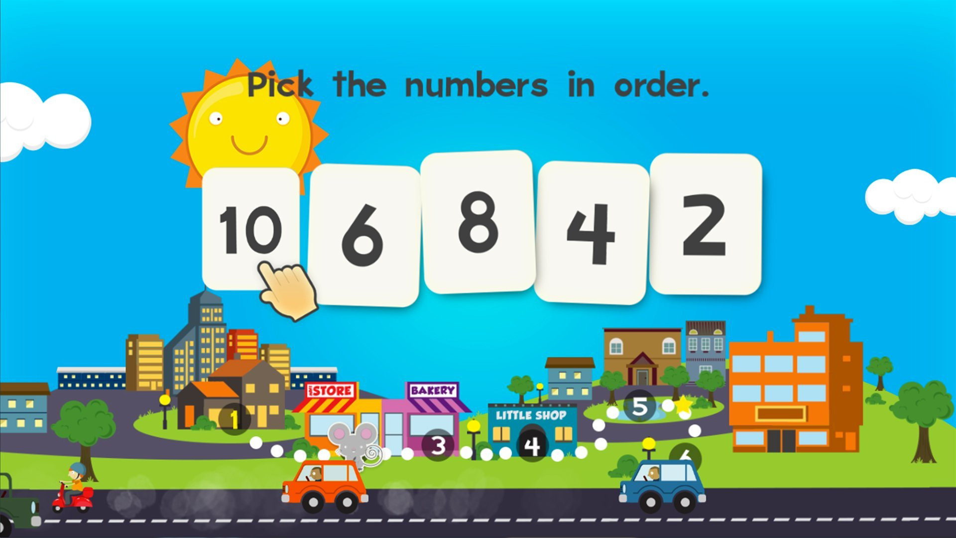 Amazon.com: Animal Math Kindergarten Math Games for Kindergarten and ...