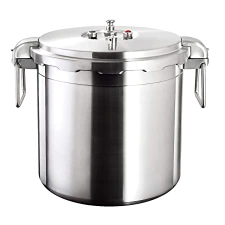Buffalo QCP430 32-Quart Stainless Steel Pressure Cooker Commercial series
