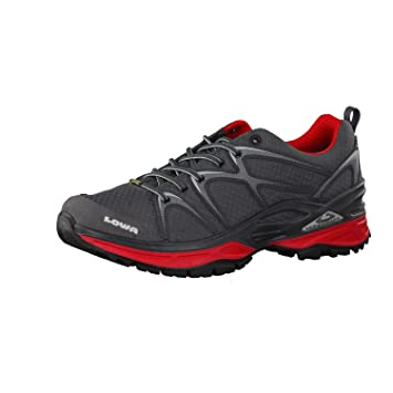 well known arriving uk cheap sale Lowa Innox GTX LO - Graphite/red