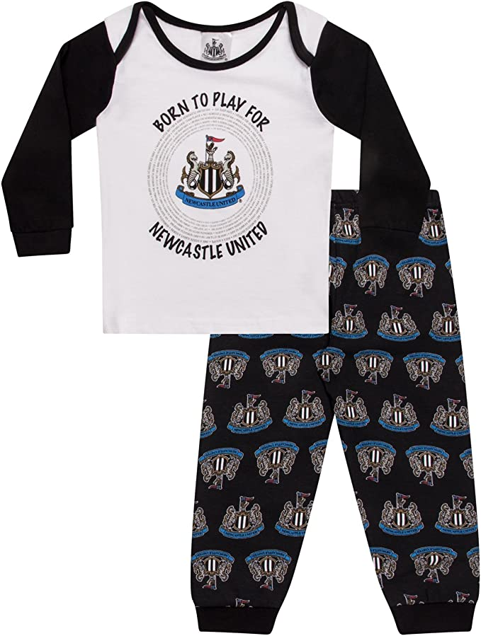 Newcastle United FC Official Soccer Gift Boys Short Pajamas