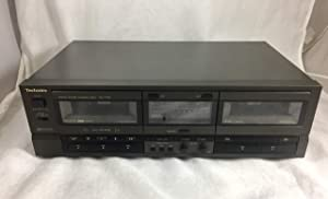 Technics RS-TR157 Stereo Dual Cassette Deck Player Recorder