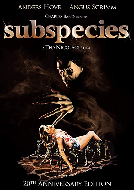 Subspecies 1 DVD 1991 Region 1 US Import NTSC by Anders Hove ...