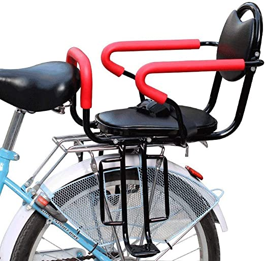 QXFJ Silla Bicicleta NiñO,Asiento Bicicleta NiñO Suministro ...