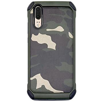 coque huawei p20 lite camouflage