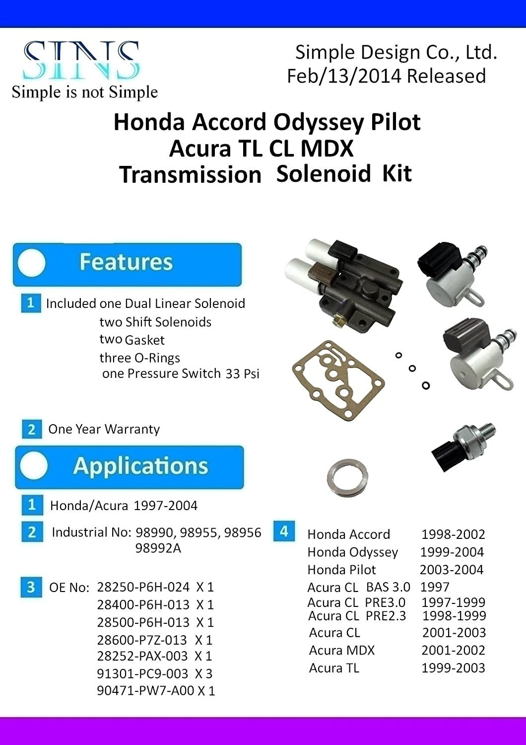 amazon com honda accord odyssey pilot acura cl tl mdx transmission