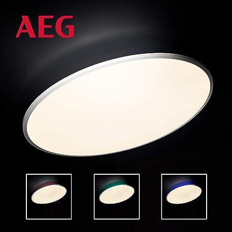 AEG Katina lámpara LED de techo blanca/lámpara mando a ...