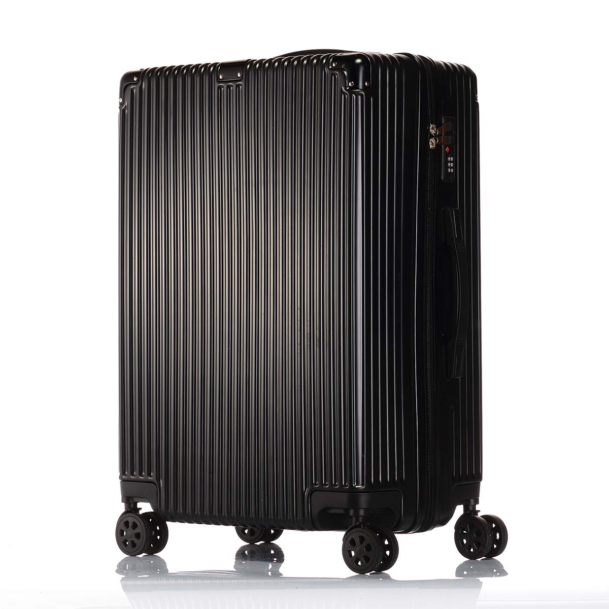 MRXUE 28 Travel Suitcase with Spinner Wheels,Hard /& Flexible Case Carry On Luggage Adjustable Handle