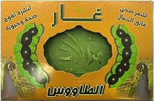 غار الطاووس صابون للبشرة والشعر ، 160 غم