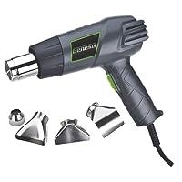 Genesis GHG1500A Dual-Temperature Heat Gun, Grey/Green, 1-Pack