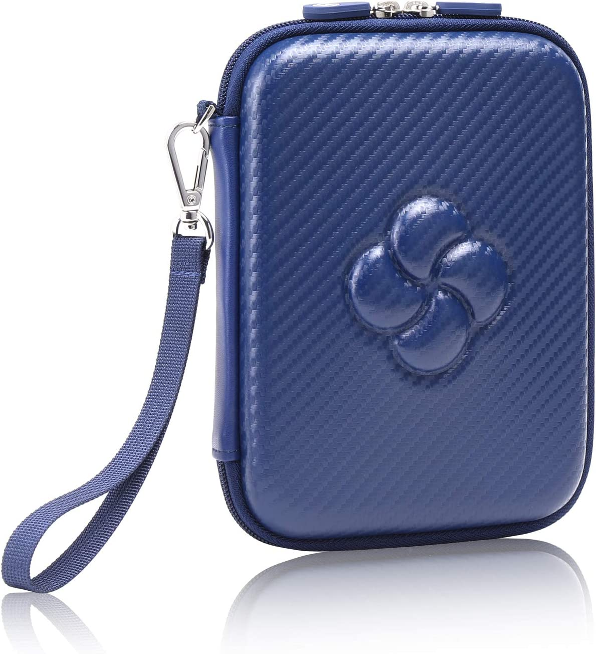 Koonice Travel Case Fits Apple Magic Trackpad 2 (MJ2R2LL/A)-Premium Hard Protable Storage Carrying Case (Navy Blue)
