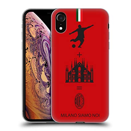 Amazon.com: AC Milan 2018/19 - Carcasa de gel para iPhone XR ...